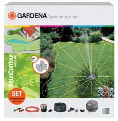 Gardena Kit Arroseur escamotable Aquacontour