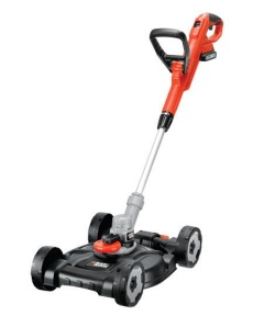 Black & Decker 18V Lithium 3-IN-1 Grastrimmer