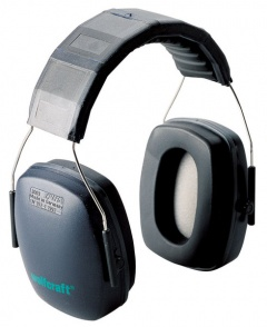 Wolfcraft Casque antibruit « Pro », SNR 26 dB, DIN EN 352-1:2002 (CE)