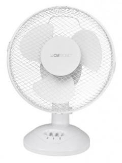 Clatronic Ventilateur de table VL 3601 blanc 23cm