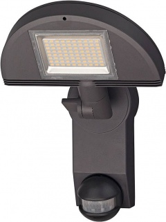 Brennenstuhl Lampe LED Premium City LH 562405 PIR IP44 anthracite, avec détecteur de mouvements infrarouge