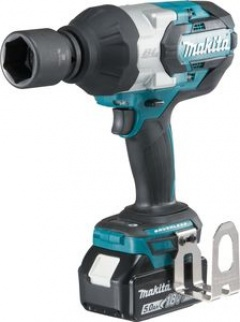 Makita Boulonneuse à chocs 18 V, Li-Ion, 5 Ah, 1050 Nm - DTW1001RTJ
