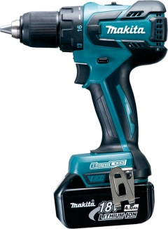 Makita Perceuse visseuse 18 V Li-Ion 4 Ah Ø 13 mm - DDF459RMJ