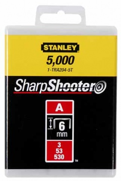 Stanley AGRAFES Type A  4 mm - 1000pcs