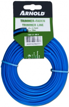 Arnold Fil nylon 2,7mm x 15m, carré - 1082-U1-0014