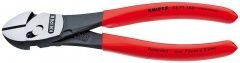 Knipex TwinForce® Pince coupante de côté haute performance, 180 mm, 4,6 Ø mm - 73 71 180