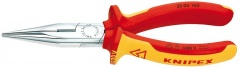 Knipex Pince demi-ronde avec tranchant chrom�e 160 mm