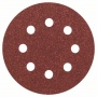 Schleifblatt Expert for Wood, 5er-Pack, 8 Löcher, Klett, 115 mm, 80