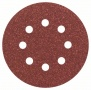 Schleifblatt Expert for Wood, 5er-Pack, 8 Löcher, Klett, 125 mm, 80