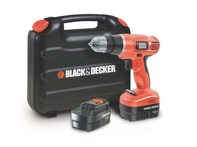 black decker epc12cabk qw perceuse visseuse sans fil 12v avec 2 batterie et chargeur. Black Bedroom Furniture Sets. Home Design Ideas