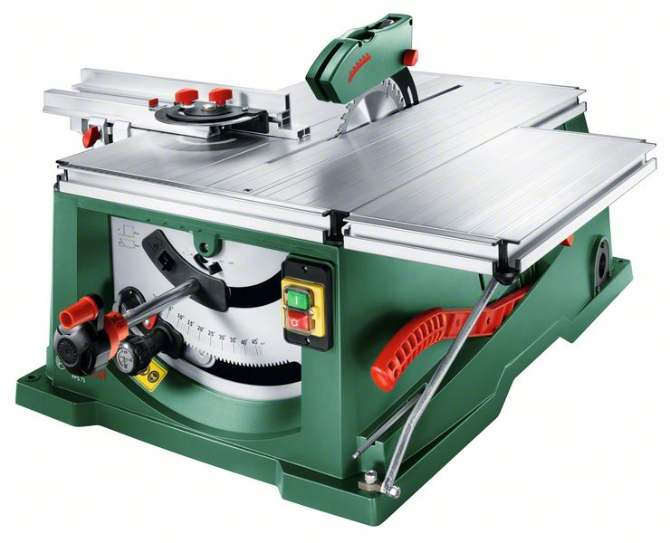 Scie circulaire sur table radiale PPS 7 S 1400 watts Laser