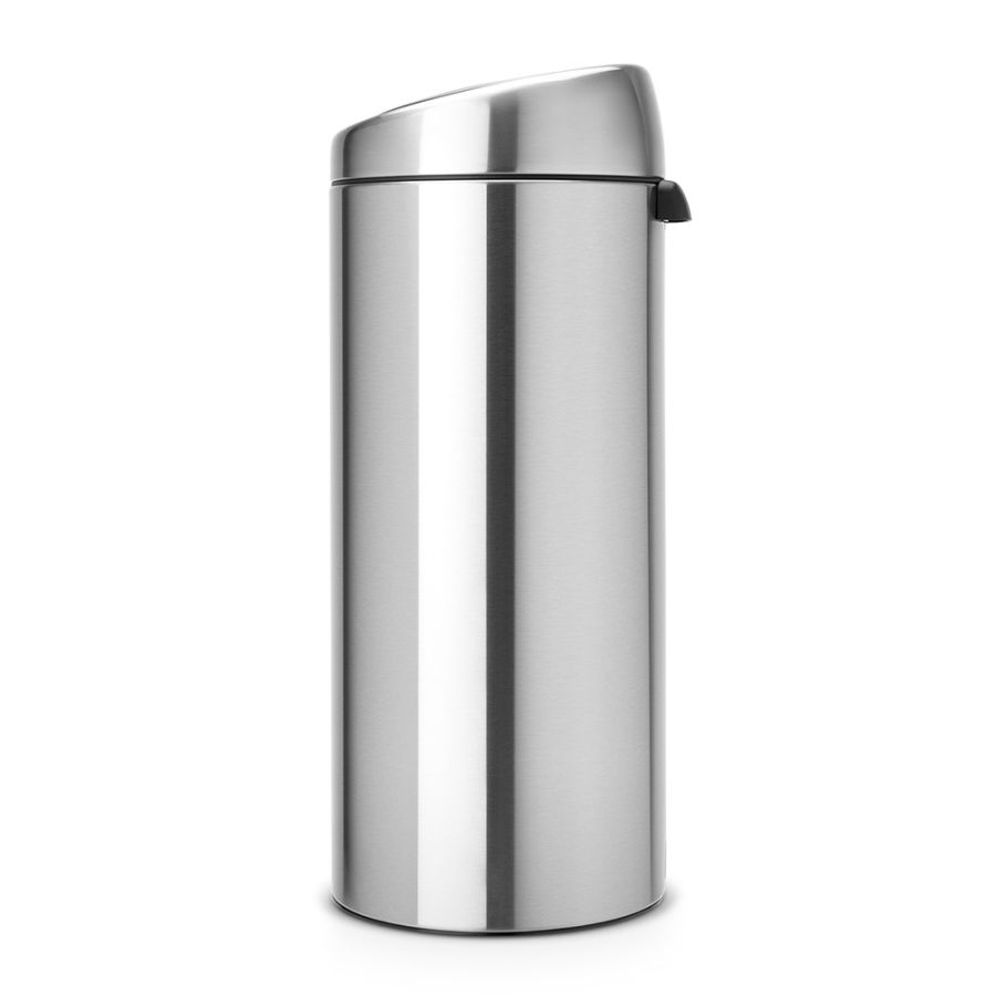 brabantia abfalleimer touch bin 30 l matt steel fingerprint proof. Black Bedroom Furniture Sets. Home Design Ideas