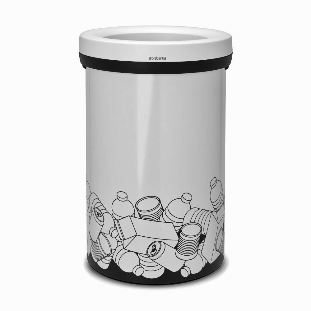 brabantia open top bin 60 l verpackungsm ll white. Black Bedroom Furniture Sets. Home Design Ideas