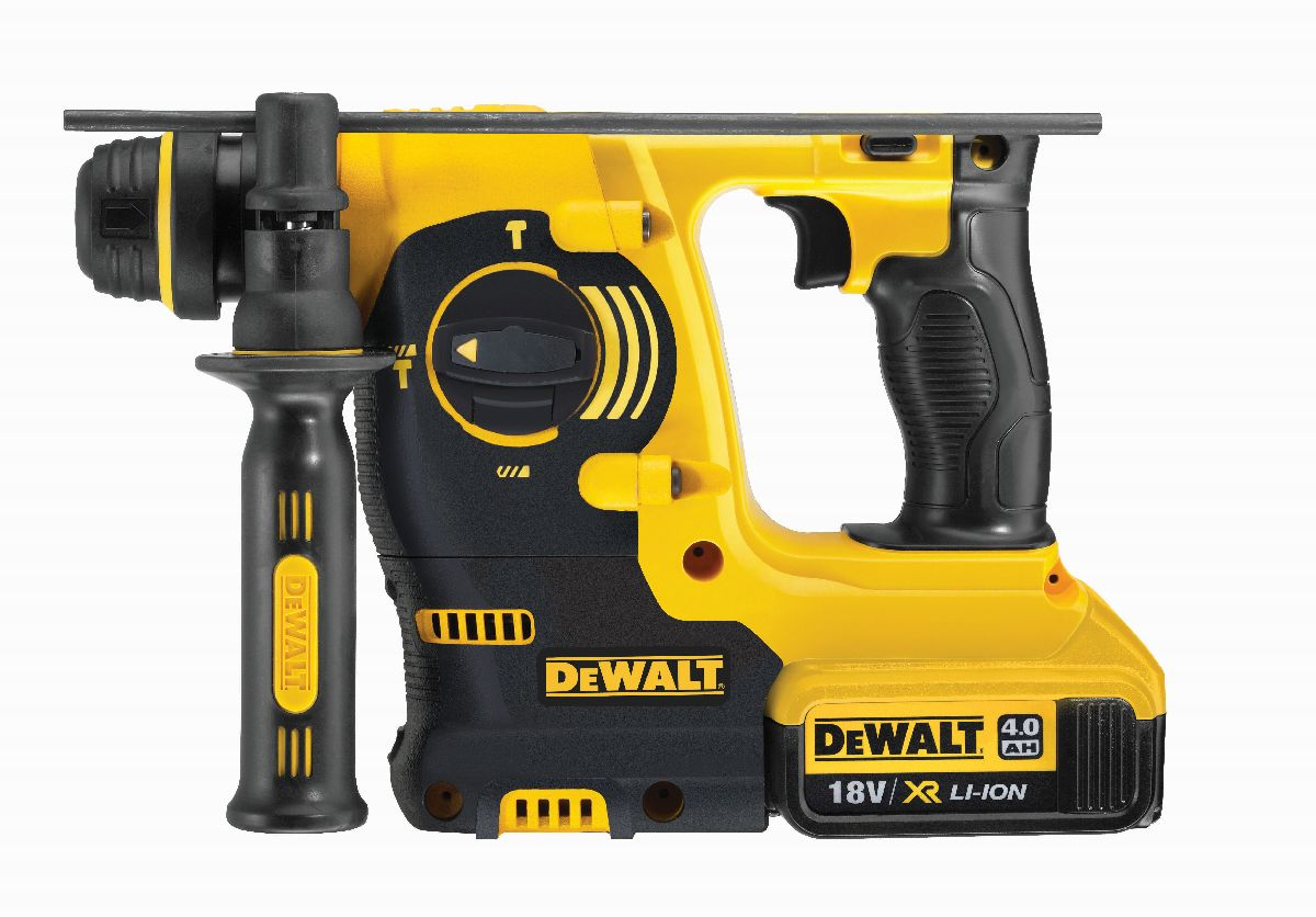 dewalt dch253m2 qw akku kombihammer 18 volt 4 ah li ion. Black Bedroom Furniture Sets. Home Design Ideas
