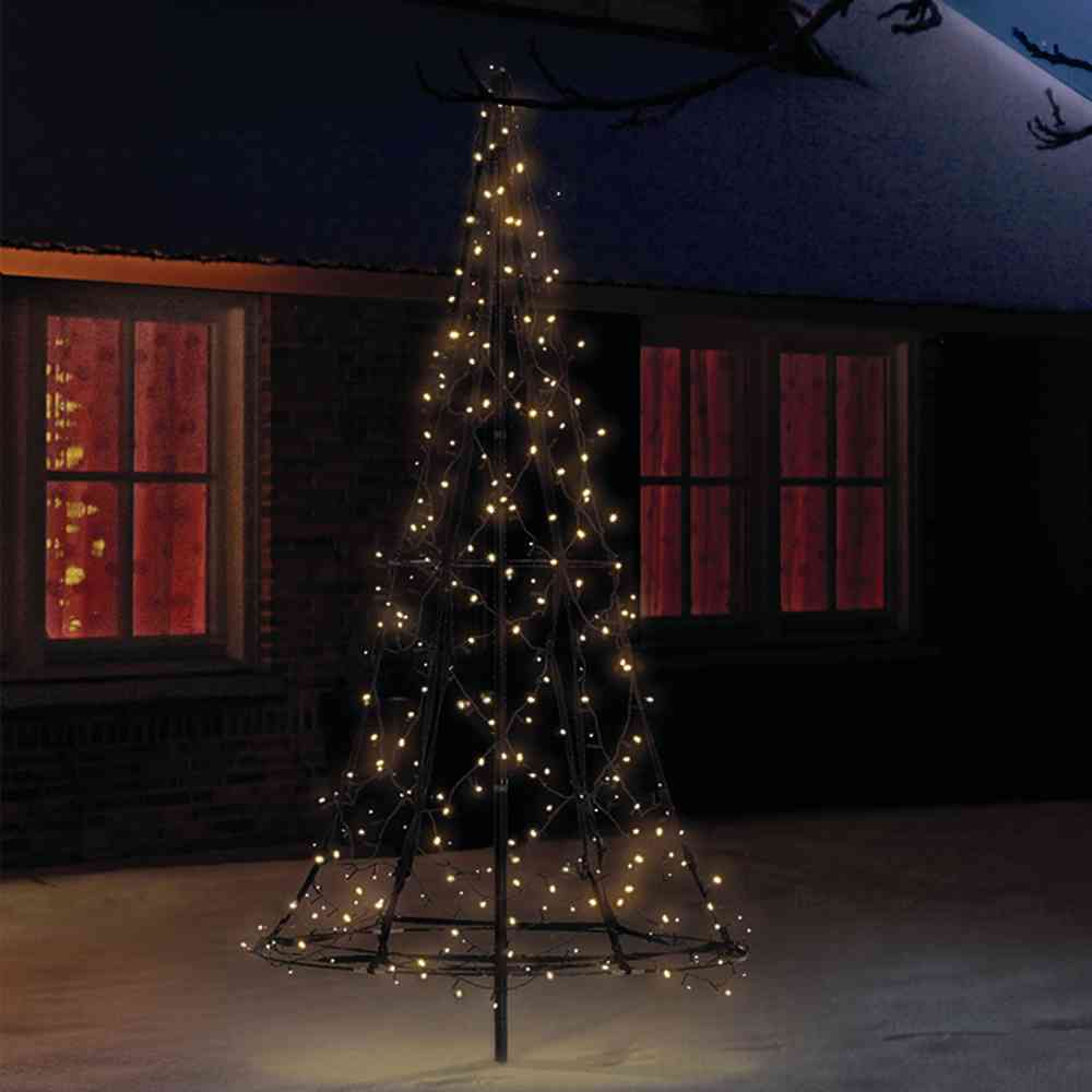 Fairybell led weihnachtsbaum 185 cm mit 250 led s warmwei - Fairybell led weihnachtsbaum ...