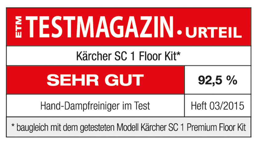 k rcher dampfreiniger sc 1 floor kit. Black Bedroom Furniture Sets. Home Design Ideas