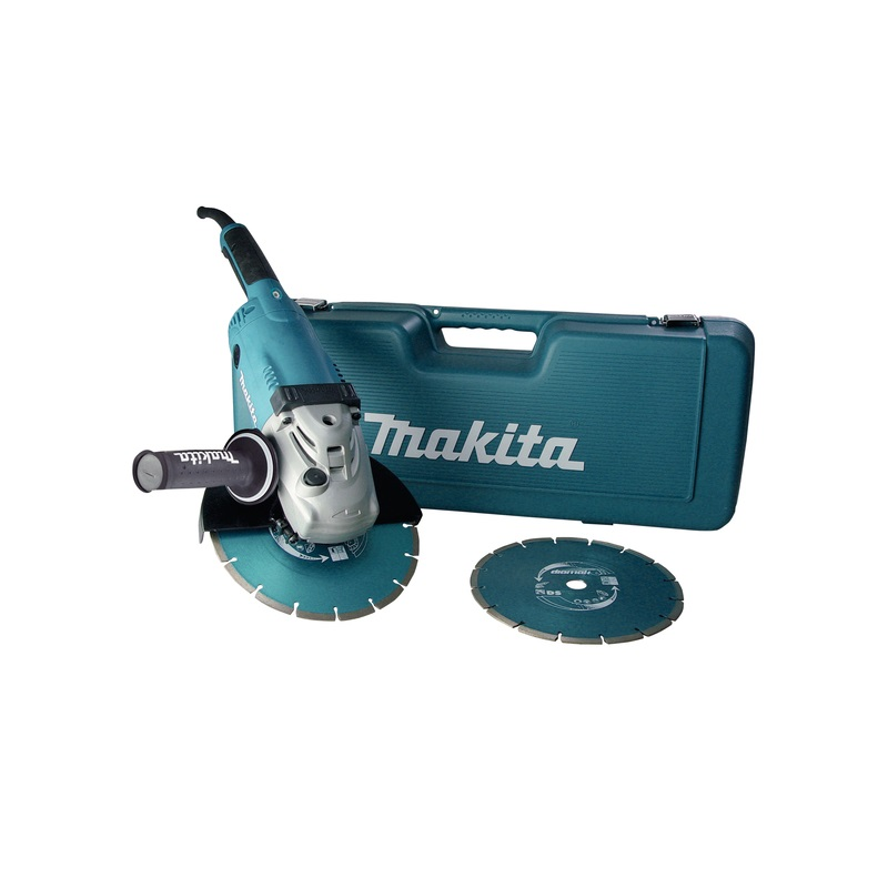 makita ga9020rfk3 winkelschleifer 230 mm 2200 w anti. Black Bedroom Furniture Sets. Home Design Ideas
