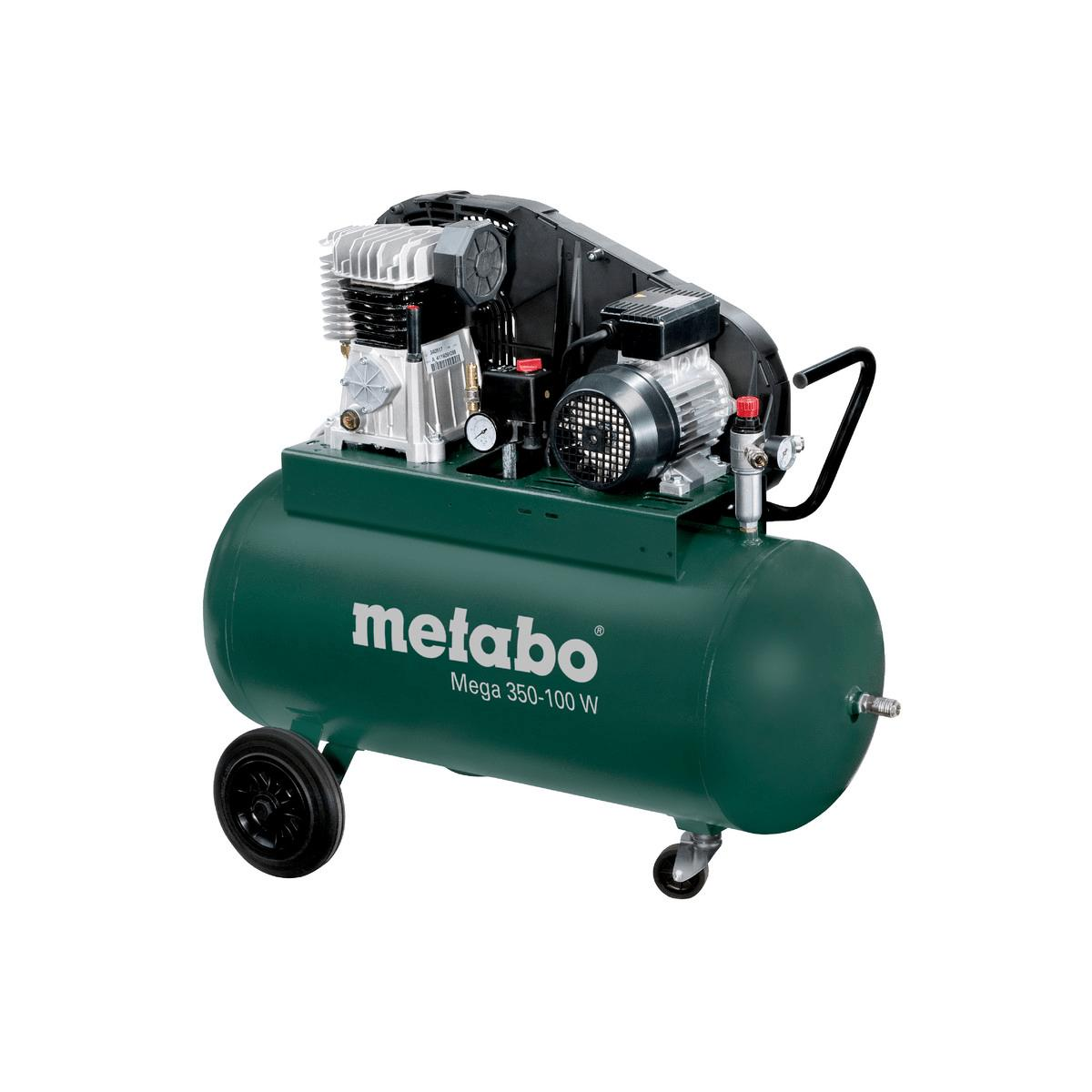 metabo kompressor mega 350 100 w 230v 90 liter 10 bar. Black Bedroom Furniture Sets. Home Design Ideas