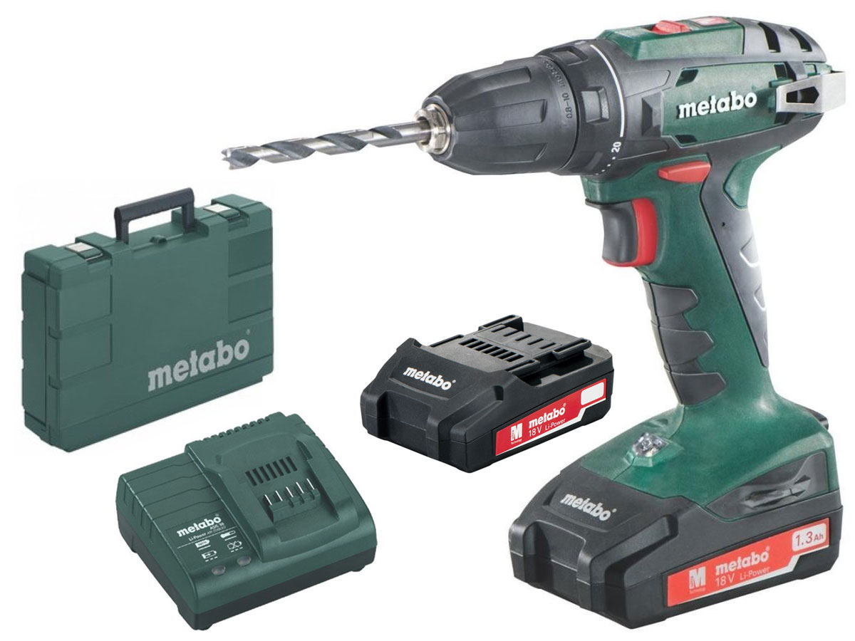 Metabo perceuse visseuse sans fil 18 volt bs 18 ebay for Comparatif perceuse visseuse sans fil