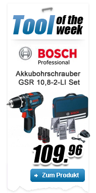 Bosch Tool Of The Week